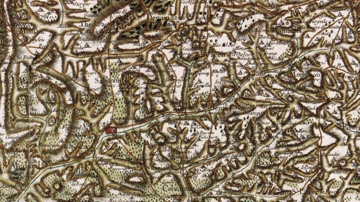 Carte de Saint-Denis-Catus