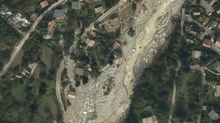 Commune de Saint-Martin-Vésubie le 5 octobre 2020