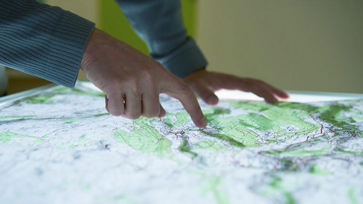 Dessinateur cartographe